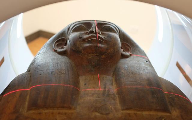 おそらく空のエジプトの棺には実際にはミイラが含まれています