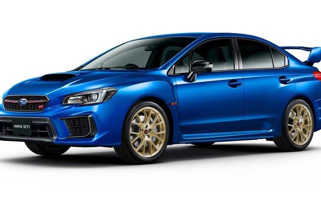 スバルはどうやら新しいWRXSTIのためにトヨタと提携している