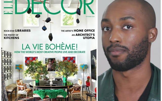 Elle Decor ahora tiene un editor en jefe negro, Asad Syrkett