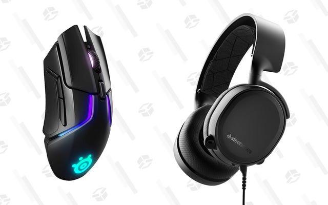 40 $ 'dan Başlayan Bu SteelSeries Kulaklıkları ve Fareleri ile Oyun Donanımınızı Kandır