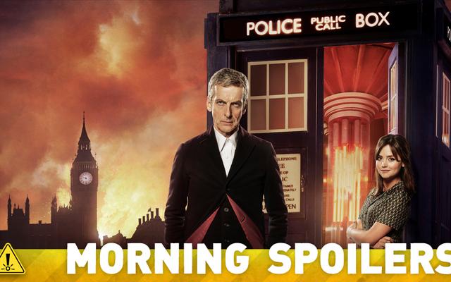 Doctor Who Set Pics, Walking Dead Hints và Sophie Turner nói chuyện về X-Men!