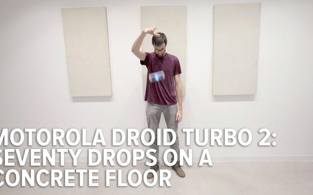 Мы снова и снова роняли Droid Turbo 2, чтобы проверить его небьющийся экран