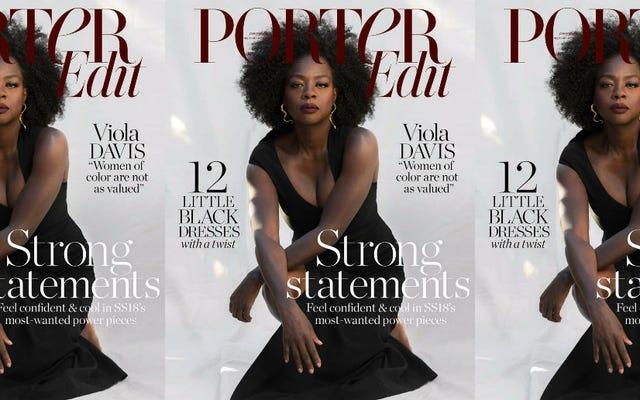 「私は女性を映している」:ヴィオラ・デイビスがポーター編集で本物になる