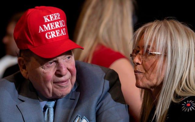 Sheldon Adelson, ennemi de la presse libre - et du poker en ligne - décède à 87 ans