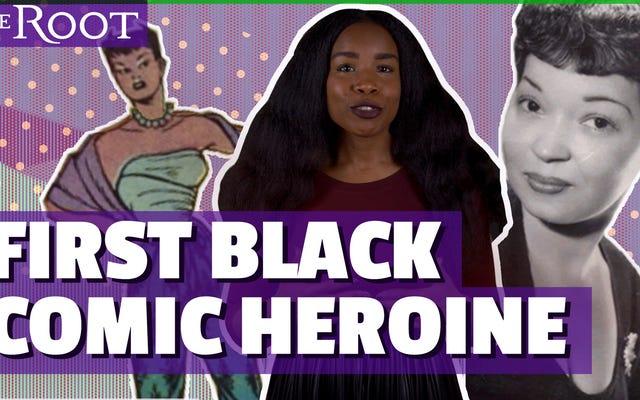 見る:このヒロインはコミックで黒人女性のための道を開いた