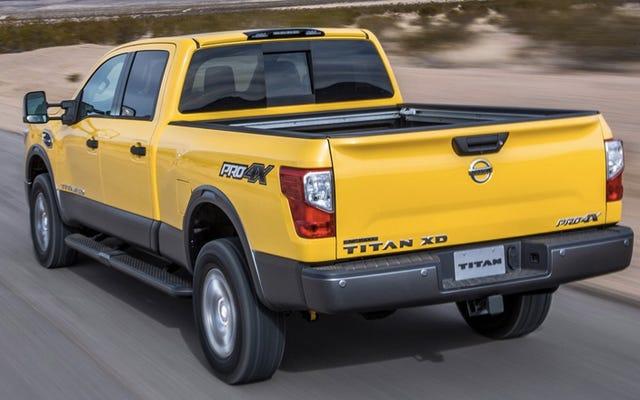 Que voulez-vous savoir sur le Nissan Titan Cummins Diesel ?