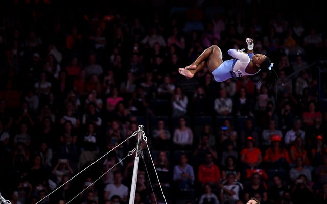Un recordatorio de que Simone Biles es la mejor atleta de nuestro (¿todo?) Tiempo