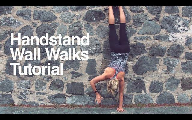 Lavora fino alle verticali con i camminamenti a parete