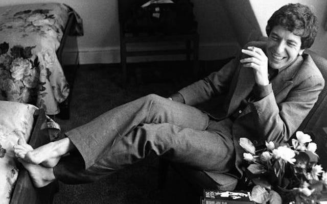 लियोनार्ड कोहेन की 'हलीलूजाह' आखिरकार बिलबोर्ड हॉट 100 में टूट गई