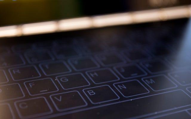 世界で最も薄いラップトップにはタッチスクリーンキーボードが必要