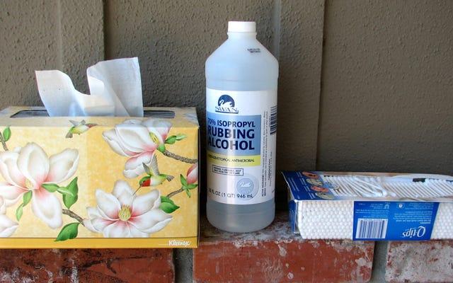Gardez des produits de nettoyage dans chaque pièce de votre maison pour être motivé à nettoyer