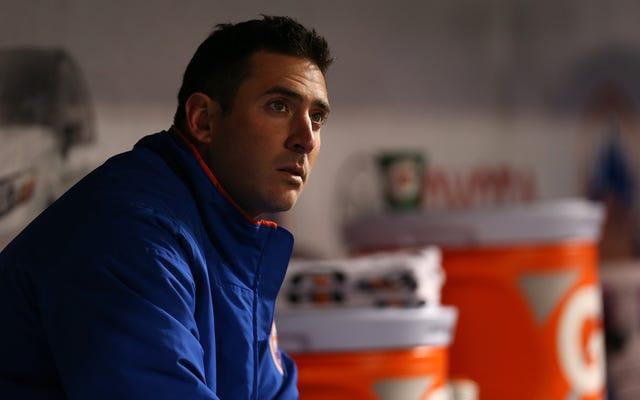 Akhirnya Mets, Putus Penuh Dengan Matt Harvey