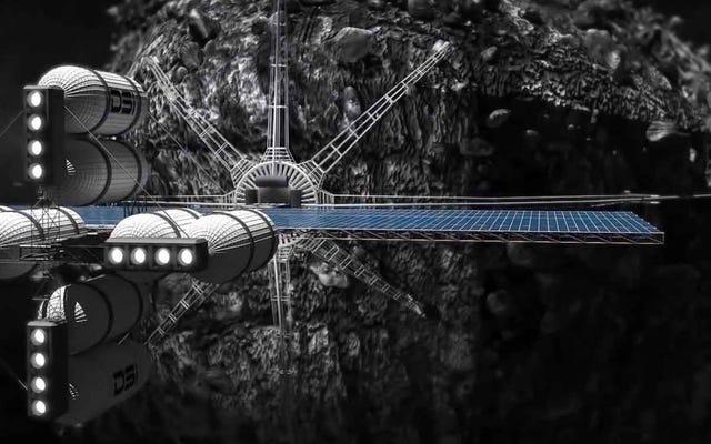 ルクセンブルクは小惑星の鉱業の世界的リーダーになりたい