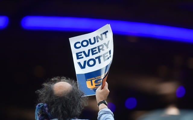 ミシガン州の共和党員は現在、ウェイン郡の選挙結果を証明するために投票を取り消そうとしています...そして私は疲れています