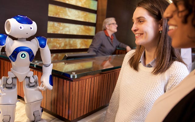Công việc mới nhất cho Watson của IBM là Nhân viên phục vụ khách sạn