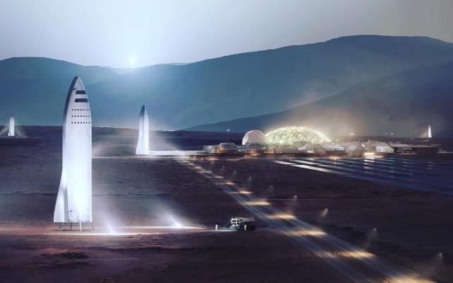 ムスクは火星に到達する計画についてさらに詳細を進めます。彼は2022年に最初の貨物ミッションを望んでいます。