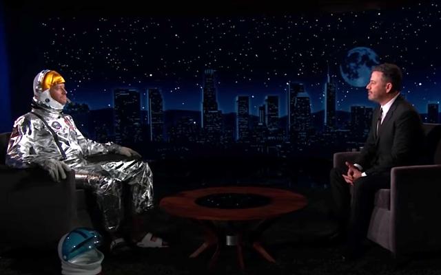 Armie Hammer se prepara para la primera entrevista en vivo de Jimmy Kimmel en siete meses