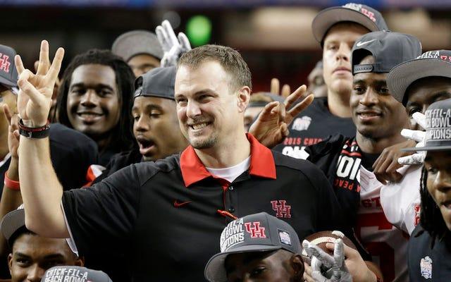 ヒューストンのコーチ、トム・ハーマンがカイル・アレンのラジオ番組で大声で叫ぶレポート