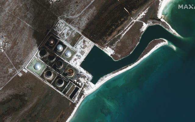 バハマでのハリケーンドリアン油流出が海に広がった