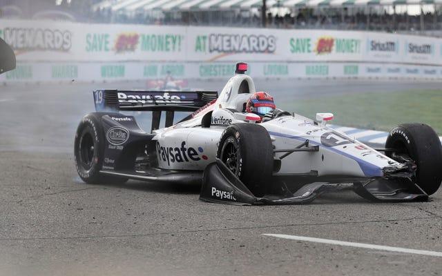 インディカーは今シーズンの最後の2レースで有名なチームメイトレッキングフォーミュラ2ドライバーに署名しています