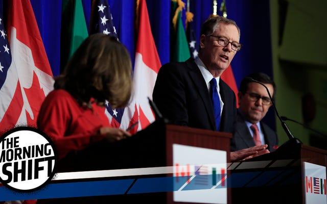 米国は法外なNAFTA要求のために爆発する