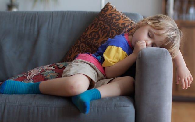彼女の部屋で眠らない子供についてのこの物語はひどい悪夢です