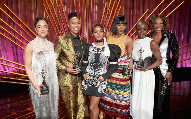 オール・ザ・スターズ:ハリウッド賞のエッセンス黒人女性がオスカーウィークをはるかに美しくした