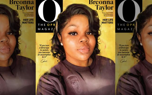 オプラマガジンはソロカバーでブレオナテイラーに敬意を表します:「私たちは沈黙することはできません。」