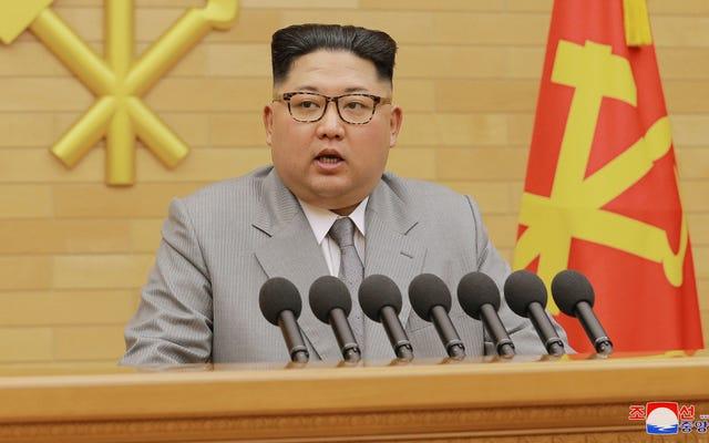 คิมจองอึนอ้างว่ามีปุ่มนิวเคลียร์ที่แท้จริง 'อยู่บนโต๊ะทำงานของฉันเสมอ'