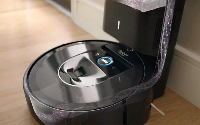 iRobotはついに自分自身を空にするルンバを作る