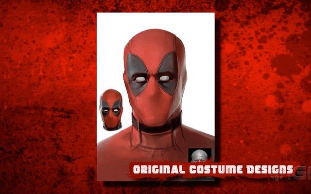 ดูจำนวนงานที่เหลือเชื่อที่ใช้ในการสร้างหน้ากากของ Deadpool