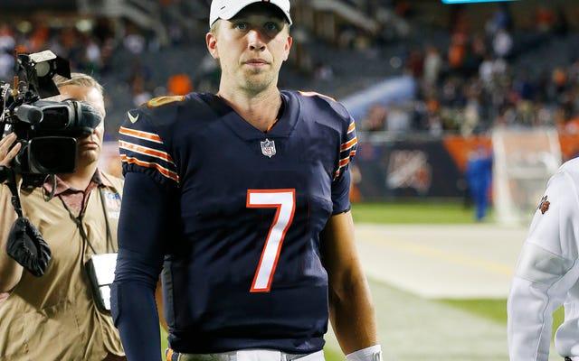 ¡Esto es Horse $ # & !: Nick Foles es solo un poco más de patchwork de los Chicago Bears