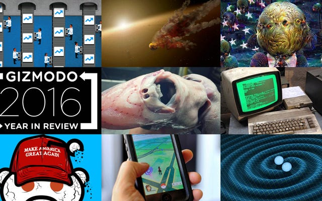 Les 100 articles Gizmodo les plus populaires de 2016