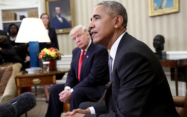 Donald Trump Tidak Tahan Bahwa Obama Memenangkan Hadiah Nobel Perdamaian dan Dia Tidak Akan Pernah