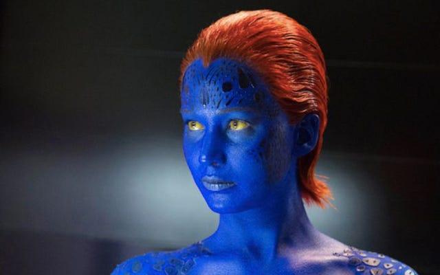 Jennifer Lawrence quiere interpretar a Mystique en una película de Guardianes de la Galaxia