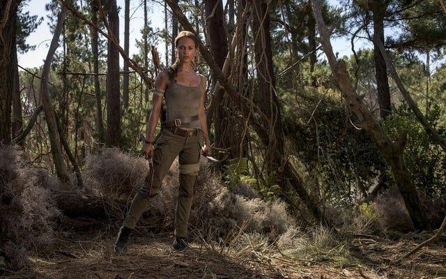 ภาพแรกและรายละเอียดของภาพยนตร์ Tomb Raider การรีบูตเรื่อง Lara Croft saga