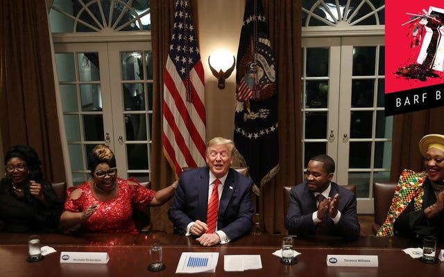 トランプ大統領は明らかに最初の黒人大統領です
