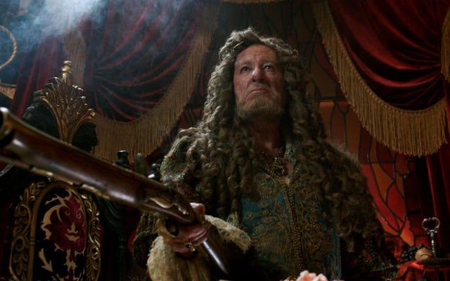 ジェフリー・ラッシュはカリブ海での海賊行為の10年以上を振り返る