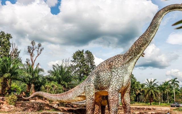 Làm thế nào để cân một con khủng long