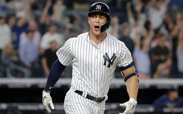 マリナーズリリーフライアンクックは「たわごと!」と叫んだ。ジャンカルロスタントンにサヨナラゲームをあきらめた後、MLBはそれを編集しなければなりませんでした