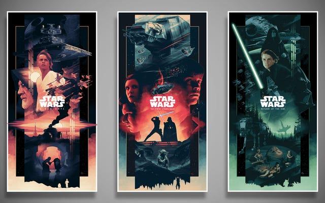 Karena Anda Tidak Pernah Memiliki Terlalu Banyak Poster Star Wars yang Cantik