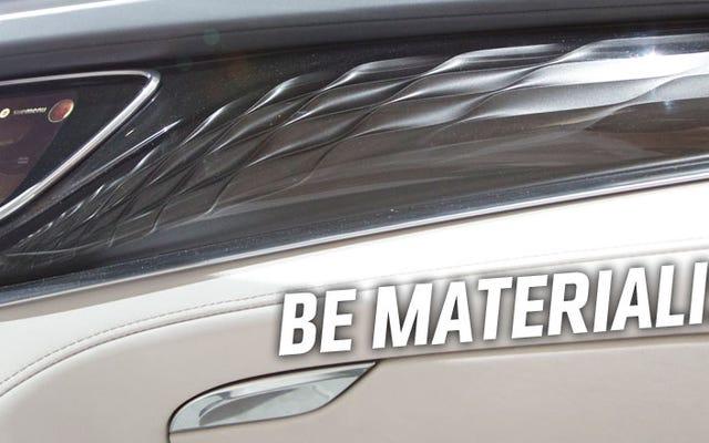 Buick Telah Menemukan Cara Membuat Plastik Mewah