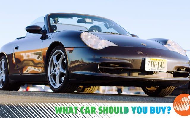J'ai déménagé du Minnesota à Cali et j'ai besoin d'un cabriolet! Quelle voiture devrais-je acheter?