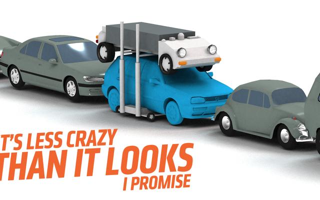 都市の電気自動車の最大の問題の1つを解決するのに役立つかもしれないアイデアがあります