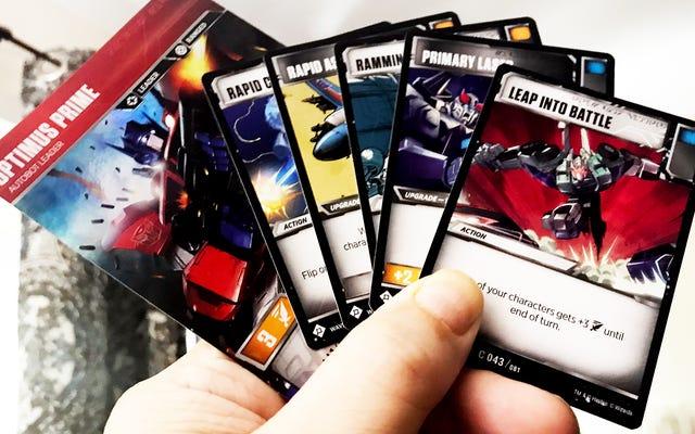 新しいトランスフォーマートレーディングカードゲームは魔法のようなものです