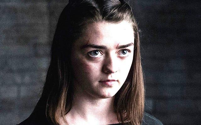 C'est une scène parfaite: Maissie Williams explique qu'elle a tourné sa dernière scène seule pour Game of Thrones
