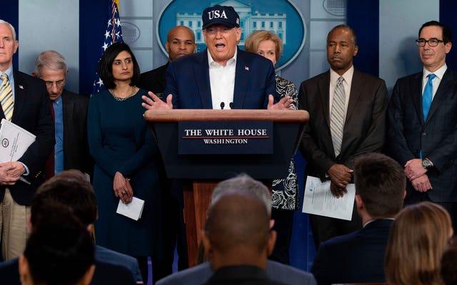Trump Memperpanjang Larangan Perjalanan ke Inggris dan Irlandia, Tes Negatif untuk COVID-19