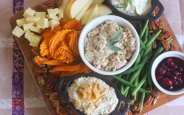 感謝祭のディナーをスナックボードに変える方法