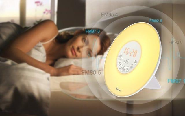 Ahora puede obtener una luz de despertador que transforma la mañana por menos de $ 20