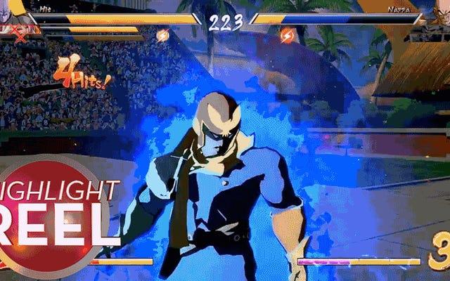 Captain Falcon in Dragon Ball FighterZ verwandelt